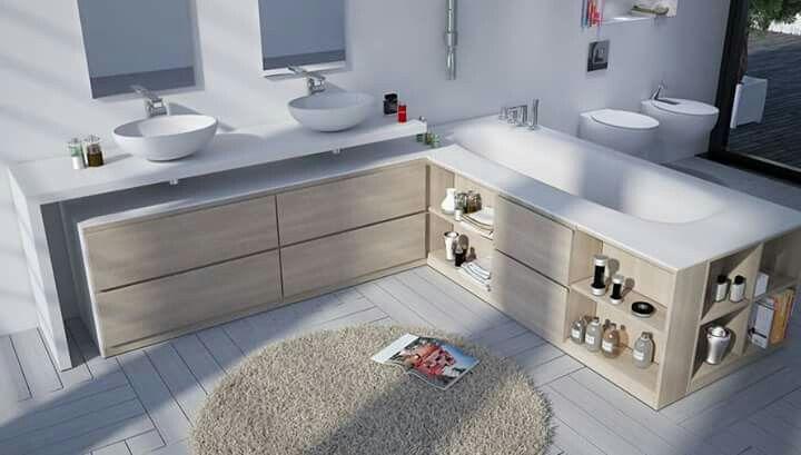 Muebles de baño Kyria #clickdecormadrid