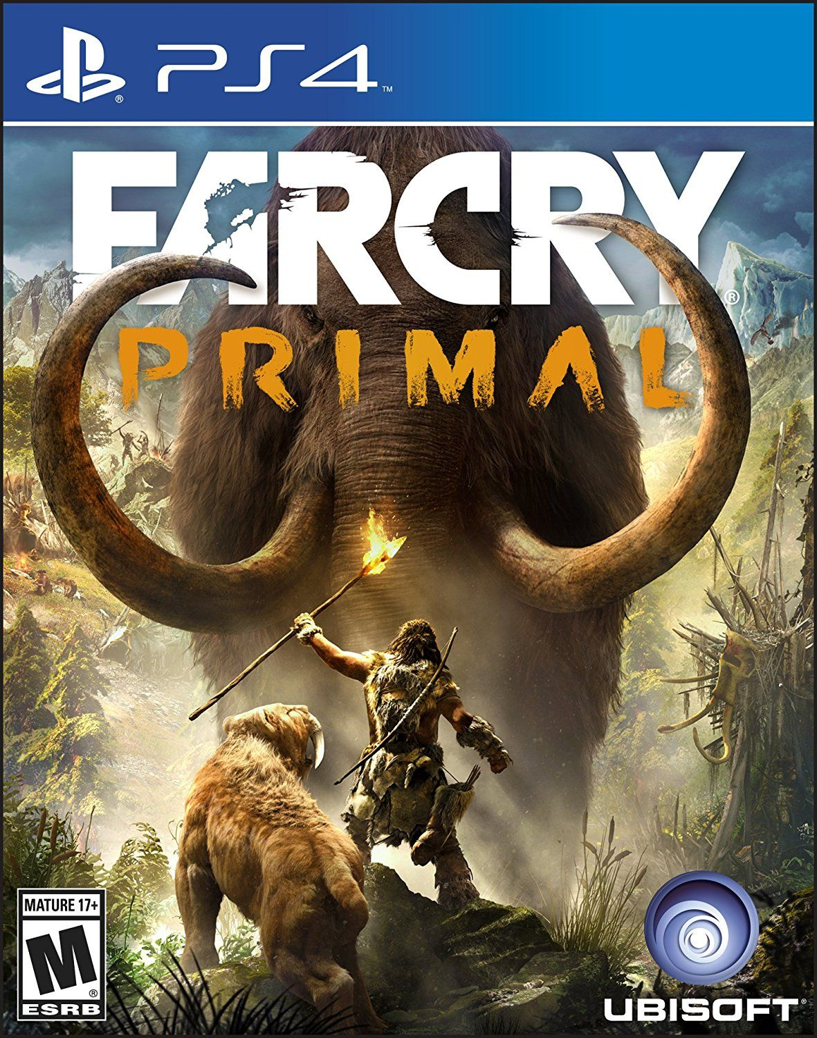 Far Cry Primal Playstation 4 Standard Edition Ubisoft Video Games Far Cry Primal Primal Game Xbox One Games