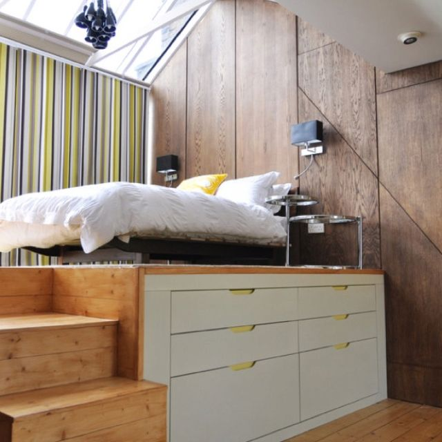 25 Cool Bed Ideas For Small Rooms Bed Platform Raised