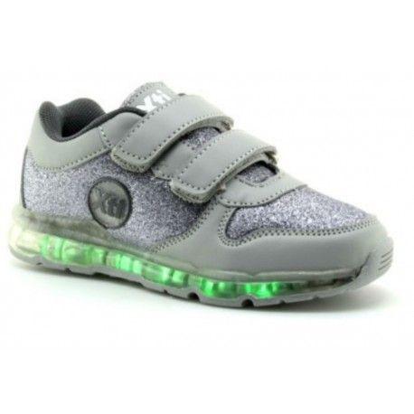 Zapatillas de leds Deportivos de luz con diferentes posiciones. Modelo  divertido para los mas pequeños