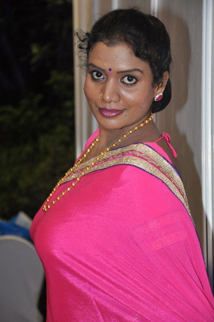 Telugu Actress Mallika Hot In Pink Saree Photos In 2019