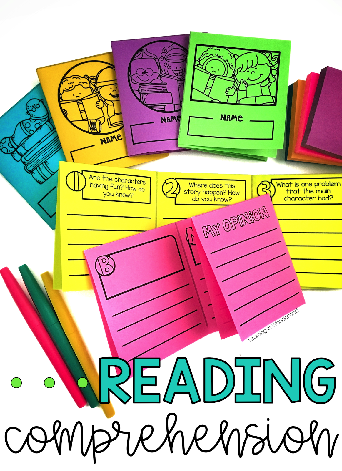 Reading Comprehension Pocket Books With Images