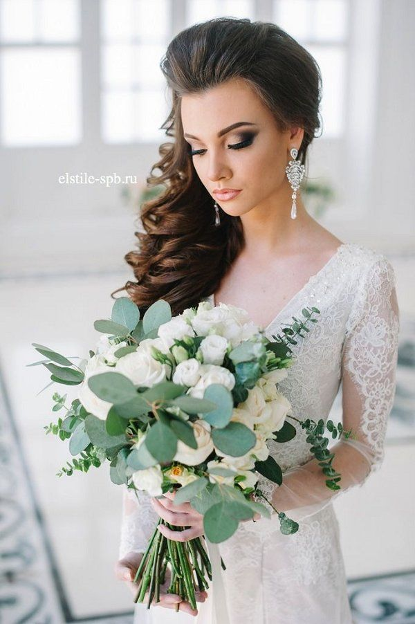 22 Bride S Favorite Wedding Hair Styles For Long Hair Simple Wedding Hairstyles Unique Wedding Hairstyles Dress Hairstyles