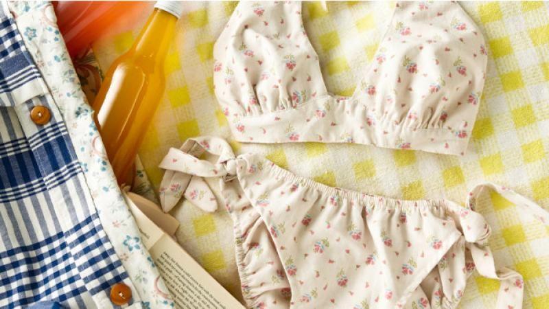 How to sew a vintage-style bikini | Costura | Costura, Artesanal y Moda