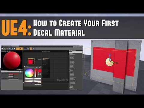 Ue4 how to create your first decal material tutorial youtube ue4 how to create your first decal material tutorial youtube malvernweather Choice Image