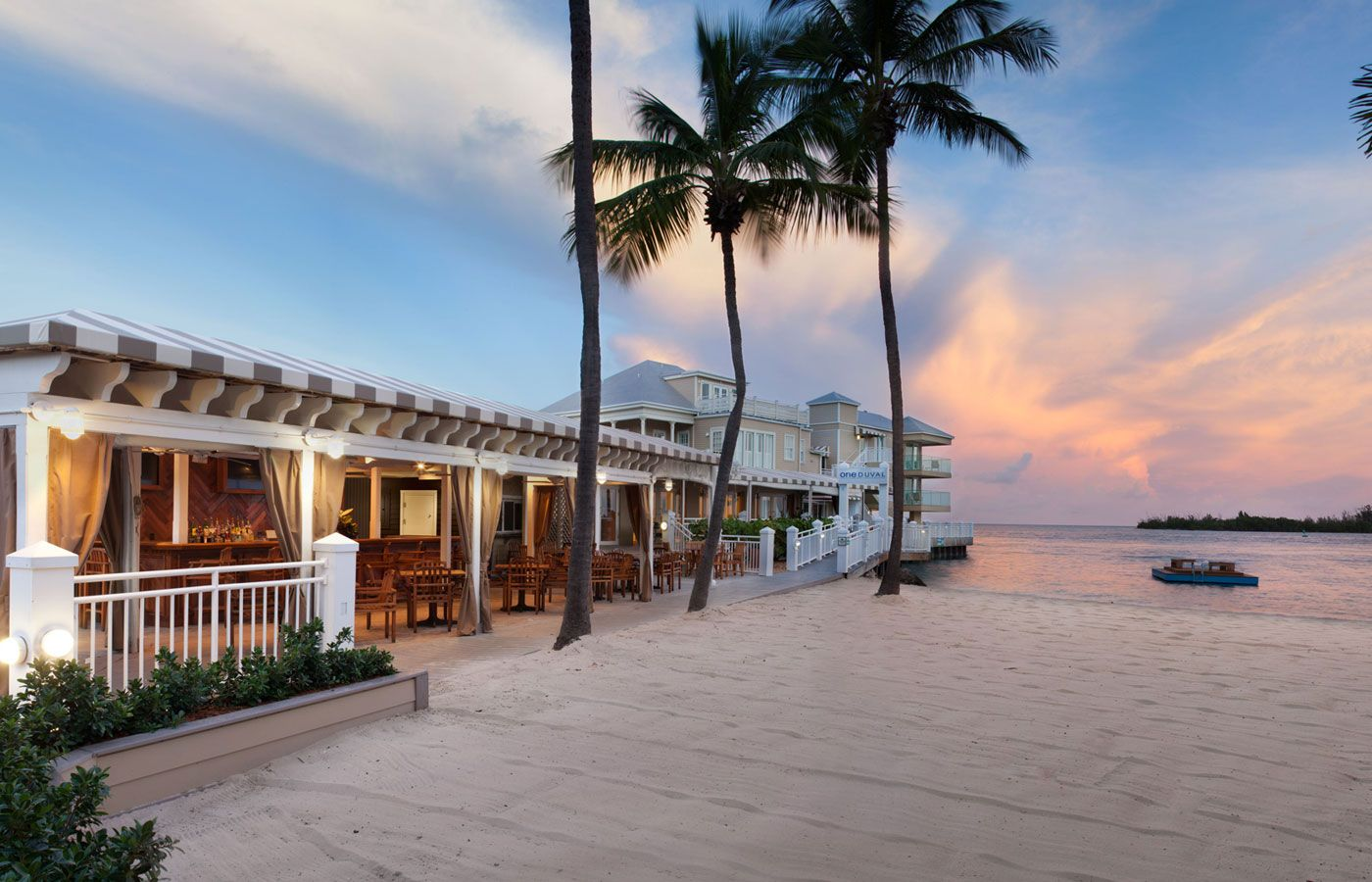 experience our key west hotel set on a private beach with