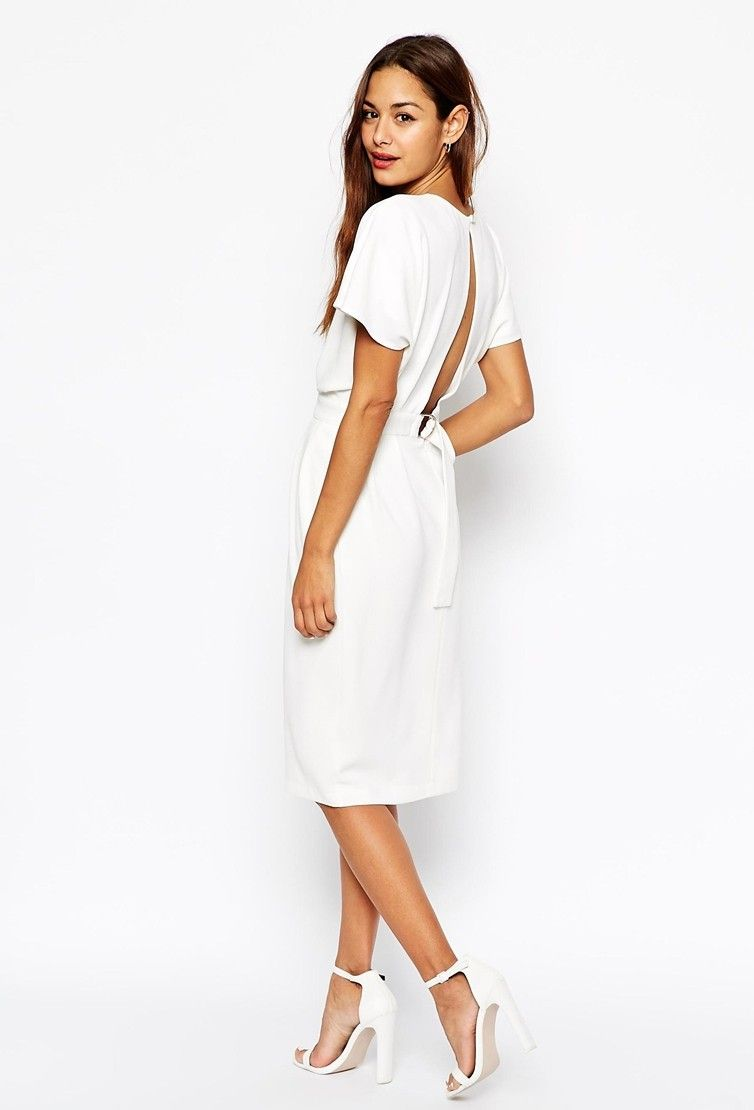 40 White-Hot Cocktail Dresses for All Your Wedding Needs: #2. Wiggle ...