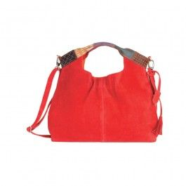 Red leather by CARPISA