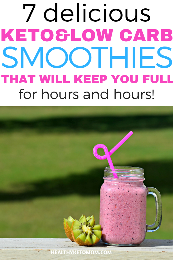 7 Easy Keto Smoothie Recipes To Keep You Full For A Long Time -   12 diet Smoothie breakfast ideas