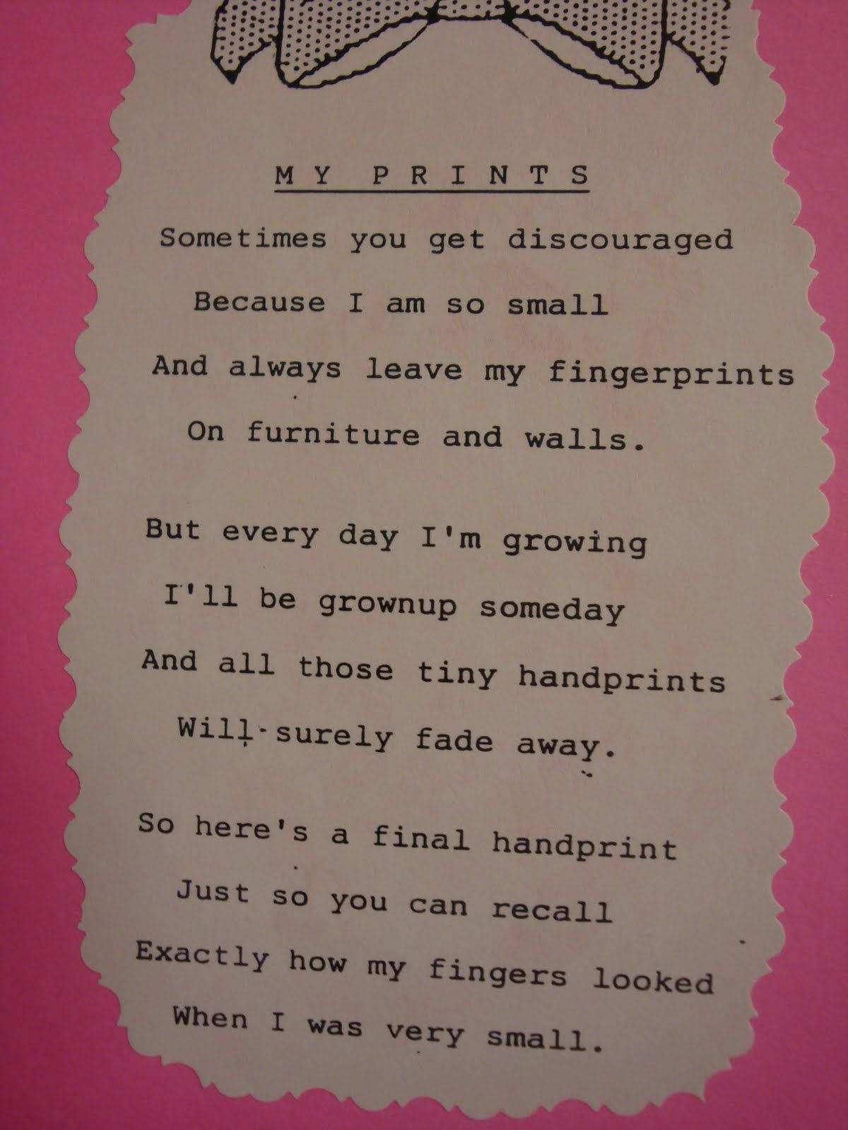 Mothers Day Poems | PreK--Preschool Ideas from Noey: Mother's day ...