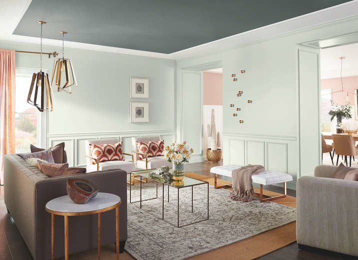 Marvelous 18 Paint Colors Youu0027re Going To See Everywhere In 2018 | Pearl Grey, Green Paint  Colors And Paint Ideas