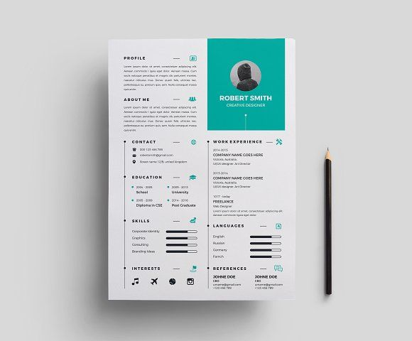 Resume/CV @creativework247 Resume Templates Pinterest Resume