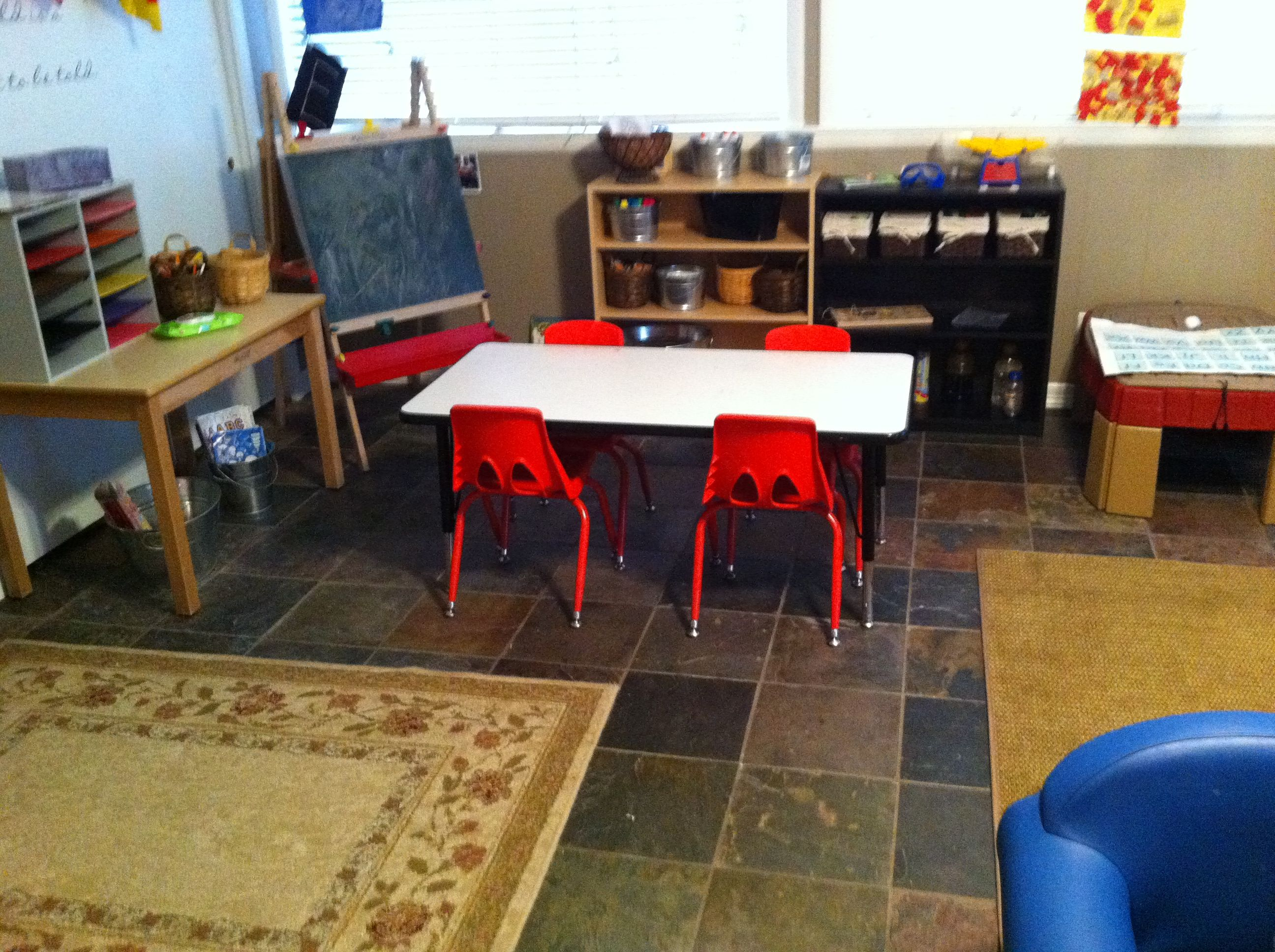I need to write an essay on what ideas to use for rooms in a community center?