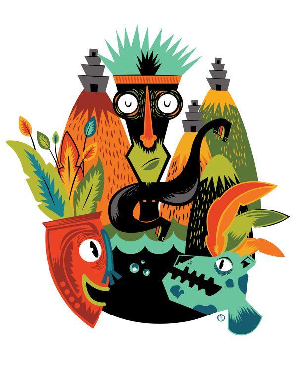 Jelva Poster by Alejandra Cuéllar,