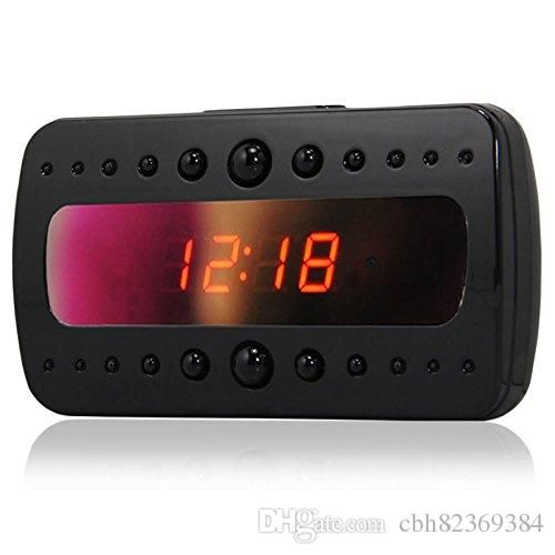 Chinese Wholesale Exporters Hd 720p Alarm Clock Camera Mini Camcorder Spy Clock Cam