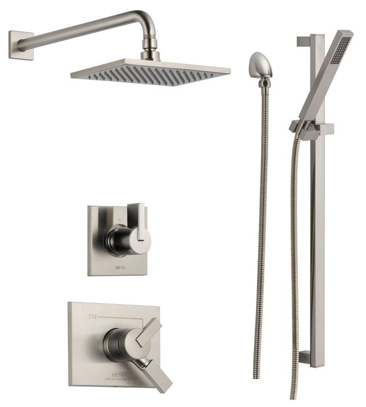 Delta DSS-Vero-1701SS | Shower systems, Custom shower and Faucet