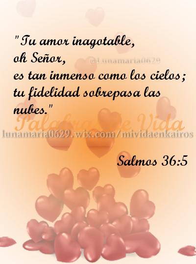 Salmos 36 5 Biblia Versiculos Amor Amistad Citas Biblicas