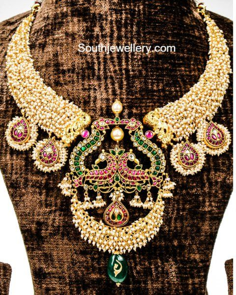 Basara Pearls Necklace photo South Indian Jewellery Pinterest