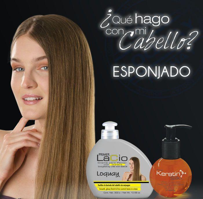 Jamás volverás a sufrir porque tu cabello se esponja usando estos 2  productos de cuidado diario de Loquay. 6c8523569675