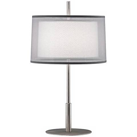 Robert Abbey Saturnia Steel 22 3 4 Quot High Table Lamp R1419 Lamps Plus Lamp Table Lamp