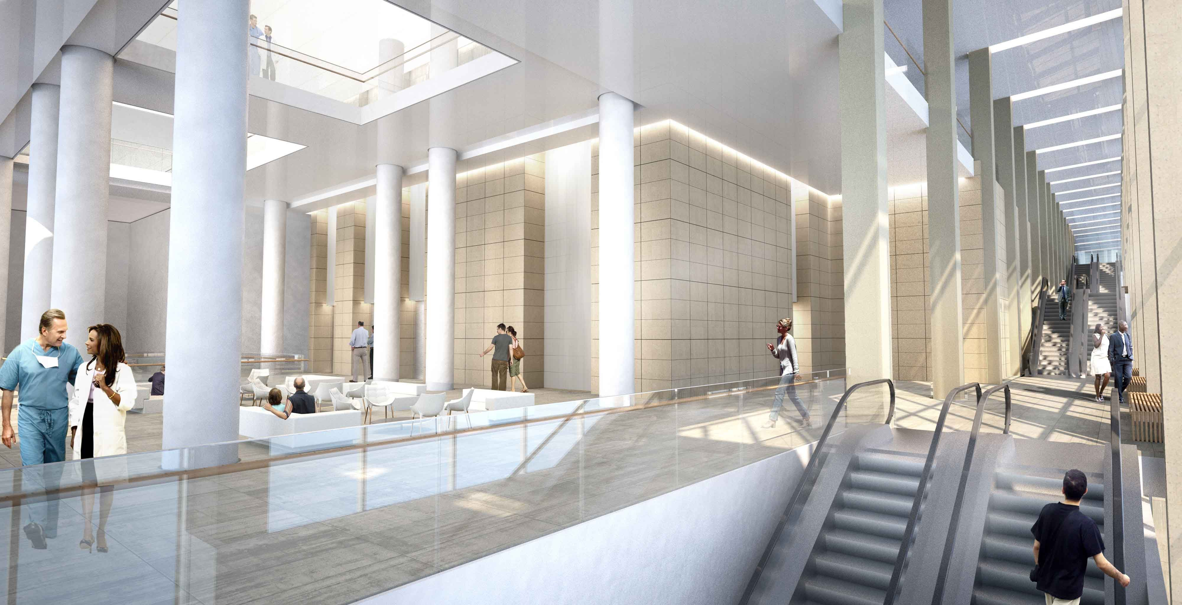 Office Foyer Meaning : Unveiled gt som s hilltop hospital in cincinnati brings