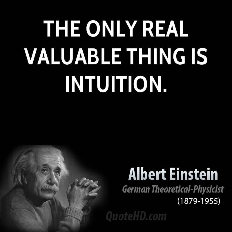 Follow Your Intuition and Find Your Success