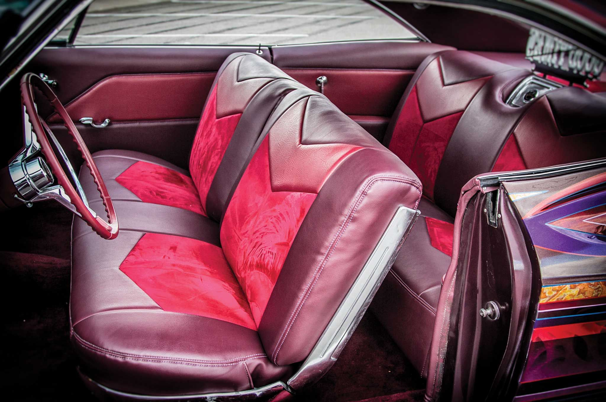 Stupendous 1966 Chevrolet Impala Custom Interior Impala Interior Theyellowbook Wood Chair Design Ideas Theyellowbookinfo