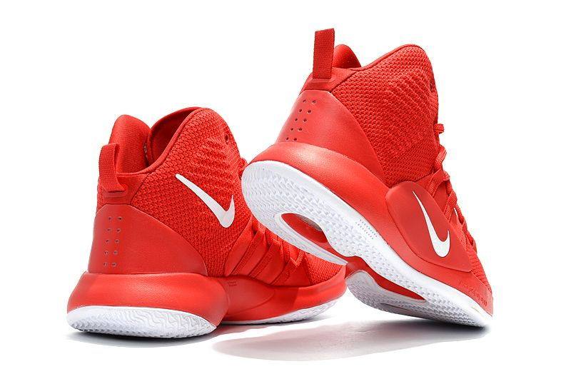 281d8cf3545c 2018 Nike Hyperdunk X University Red White Men s Basketball Shoes in ...