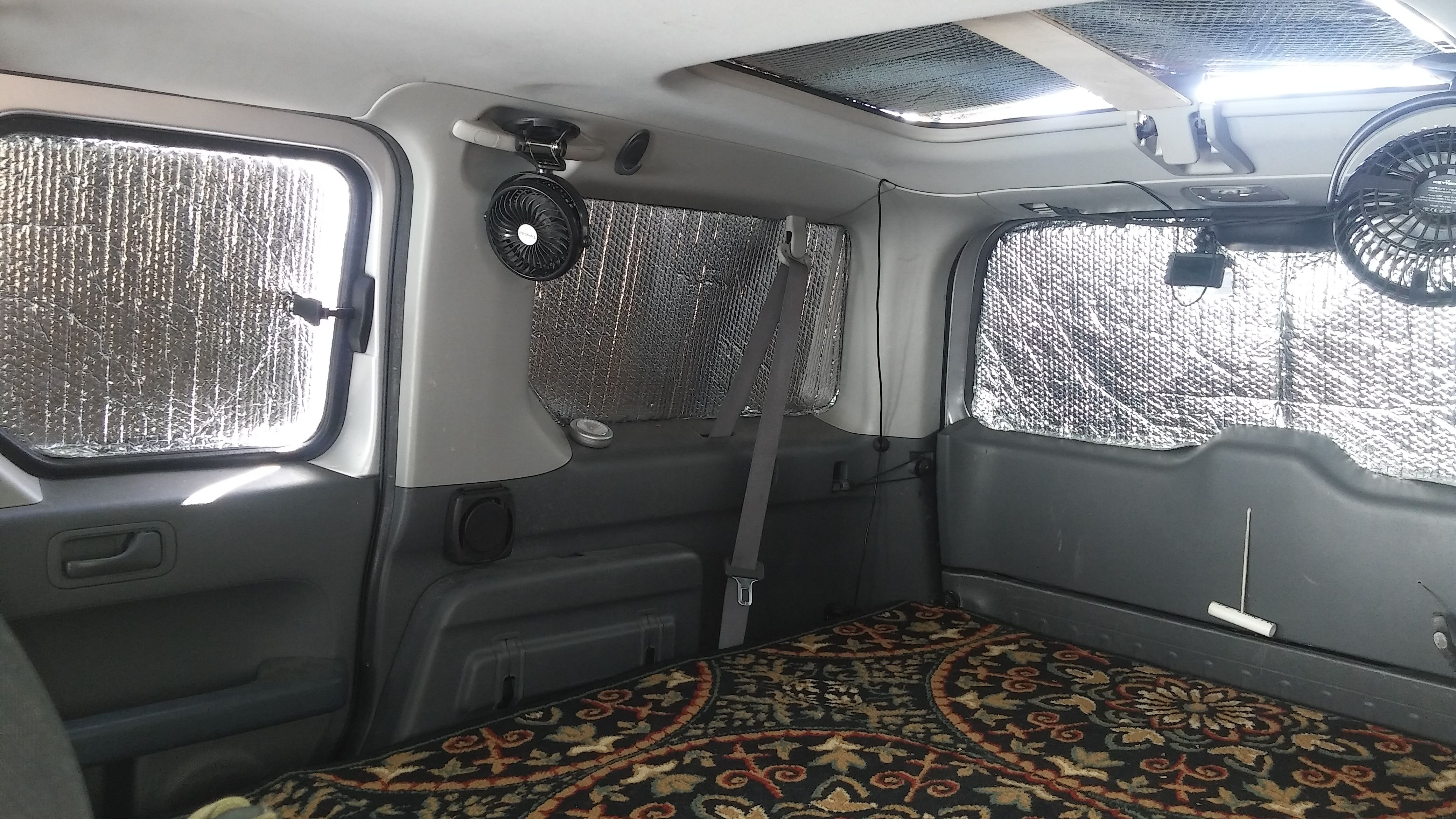 Town And Country Honda >> Reflectix Privacy Window Covers Window Privacy Window