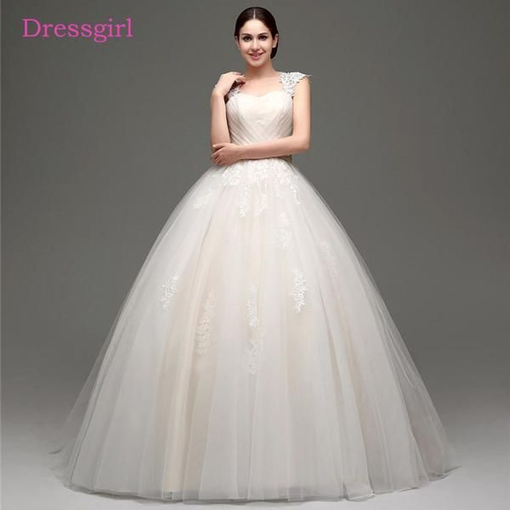 Cool fabulous tulle ball gown bridal wedding dress ideas