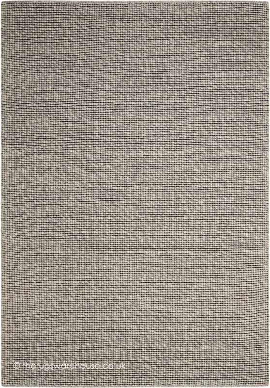 Lowland Grey Rug A Hand Woven Wool Blend Modern From Calvin Klein Home