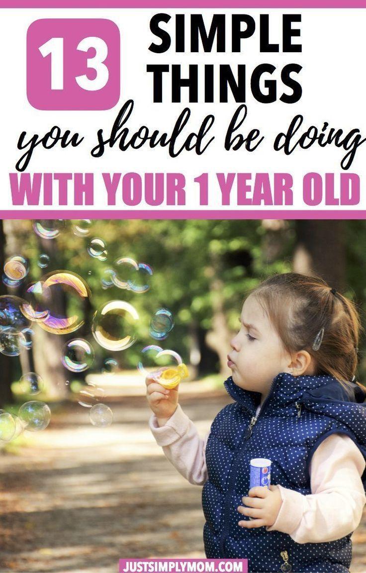 14 Simple Activities To Teach Your 1YearOld Activities