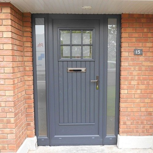 Composite Front Door = Perfect For Cottage