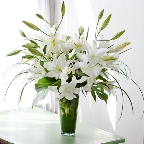 Bird Of Paradise And Casablanca Lily Flower Arrangements Google Search Arranjos De Flores Artificiais Arranjos De Flores Arranjos De Orquideas