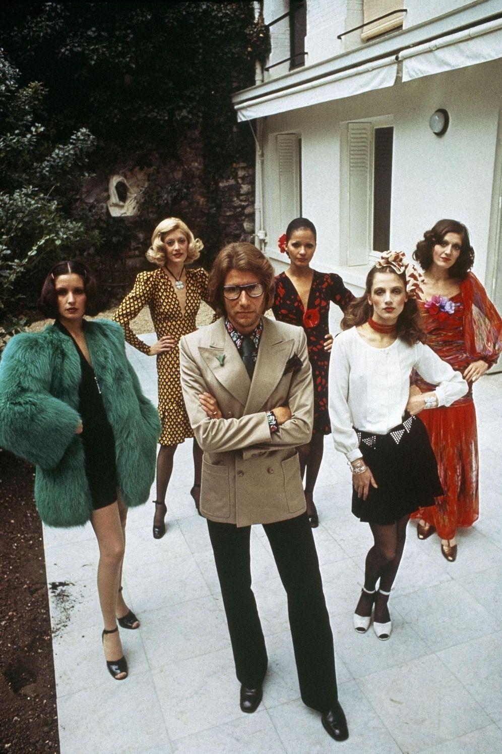 059d04f489c Yves Saint Laurent 1971 La Collection Du Scandale | Seventies Style ...
