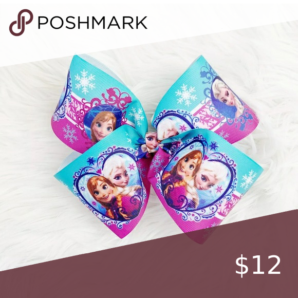 Girls Hair Bow Disney Frozen Ana Elsa Clip 7 Firm On Price Unless Bundled Accessories Hair Accessories Girl Hair Bows Kids Hair Accessories Girl Hairstyles