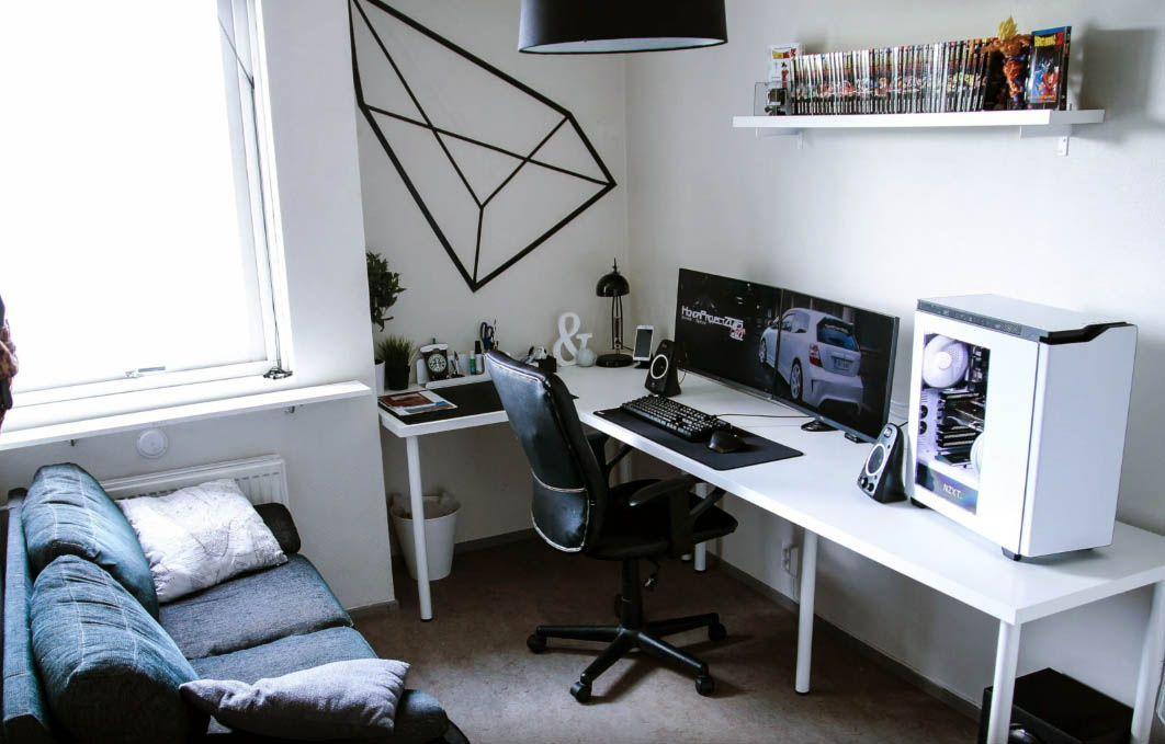 Diy Computer Desk Ideas Diy Computer Desk Gaming Desk Gaming Desk Setup