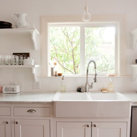 Spülbecken keramik ikea  Ikea Domsjo sink. $300. | Kitchen Ideas | Pinterest