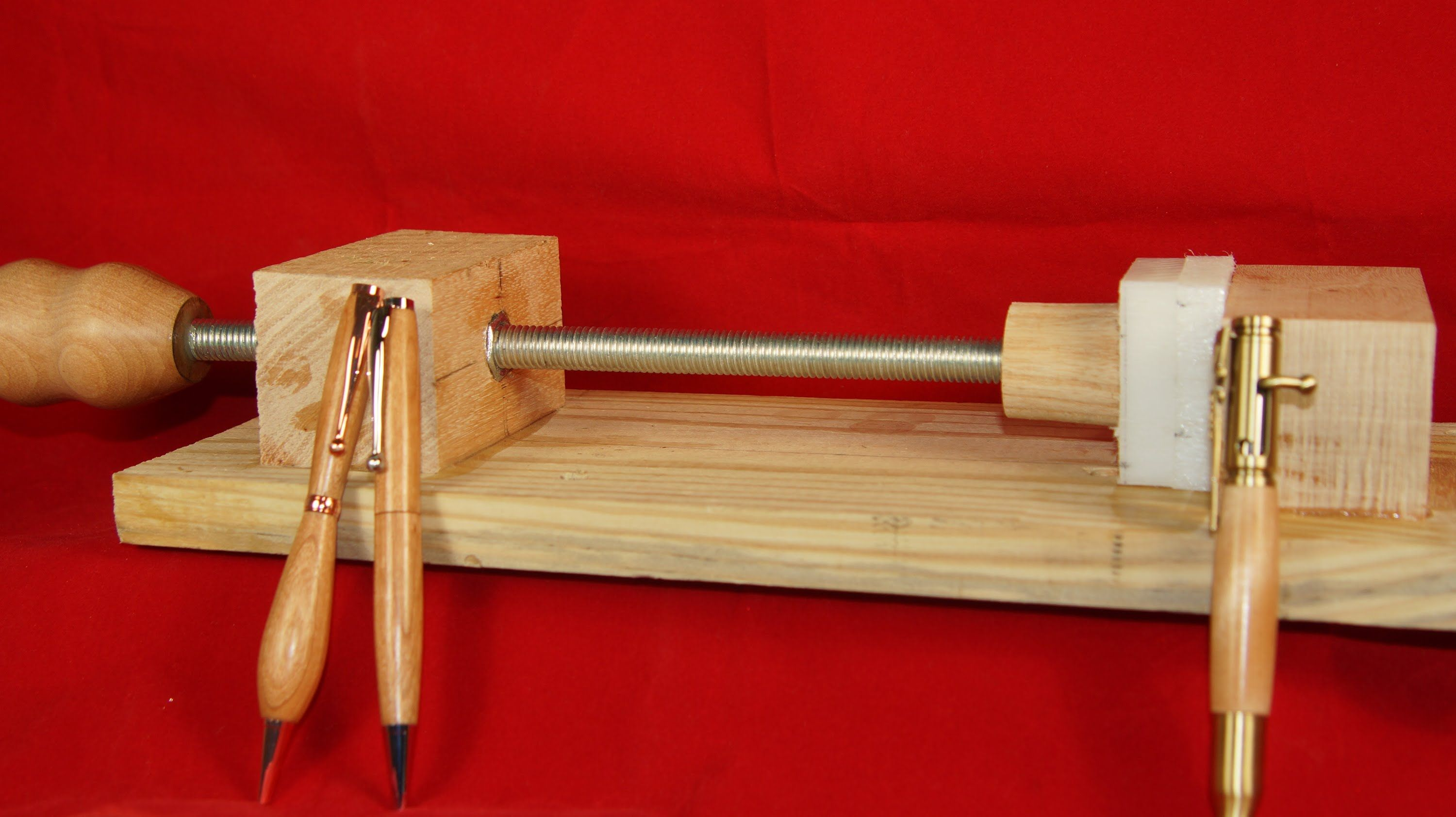 Pen Press And Pen Makers Vise Solution 16 Essential Woodworking Tools Wood Turning Projects Woodworking