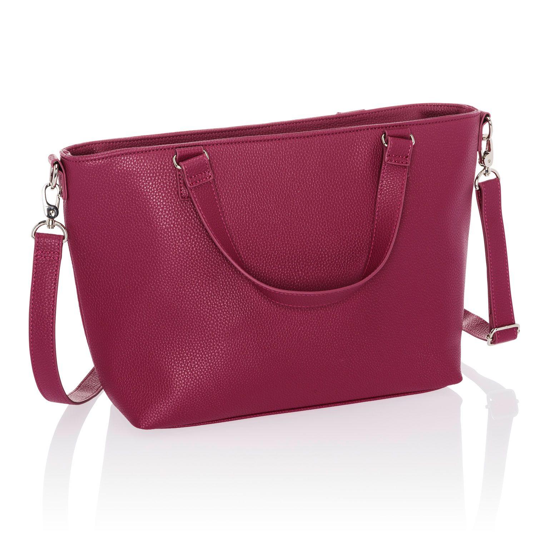 berry pink zipper Navy Hilary Linen Wristlet leather strap