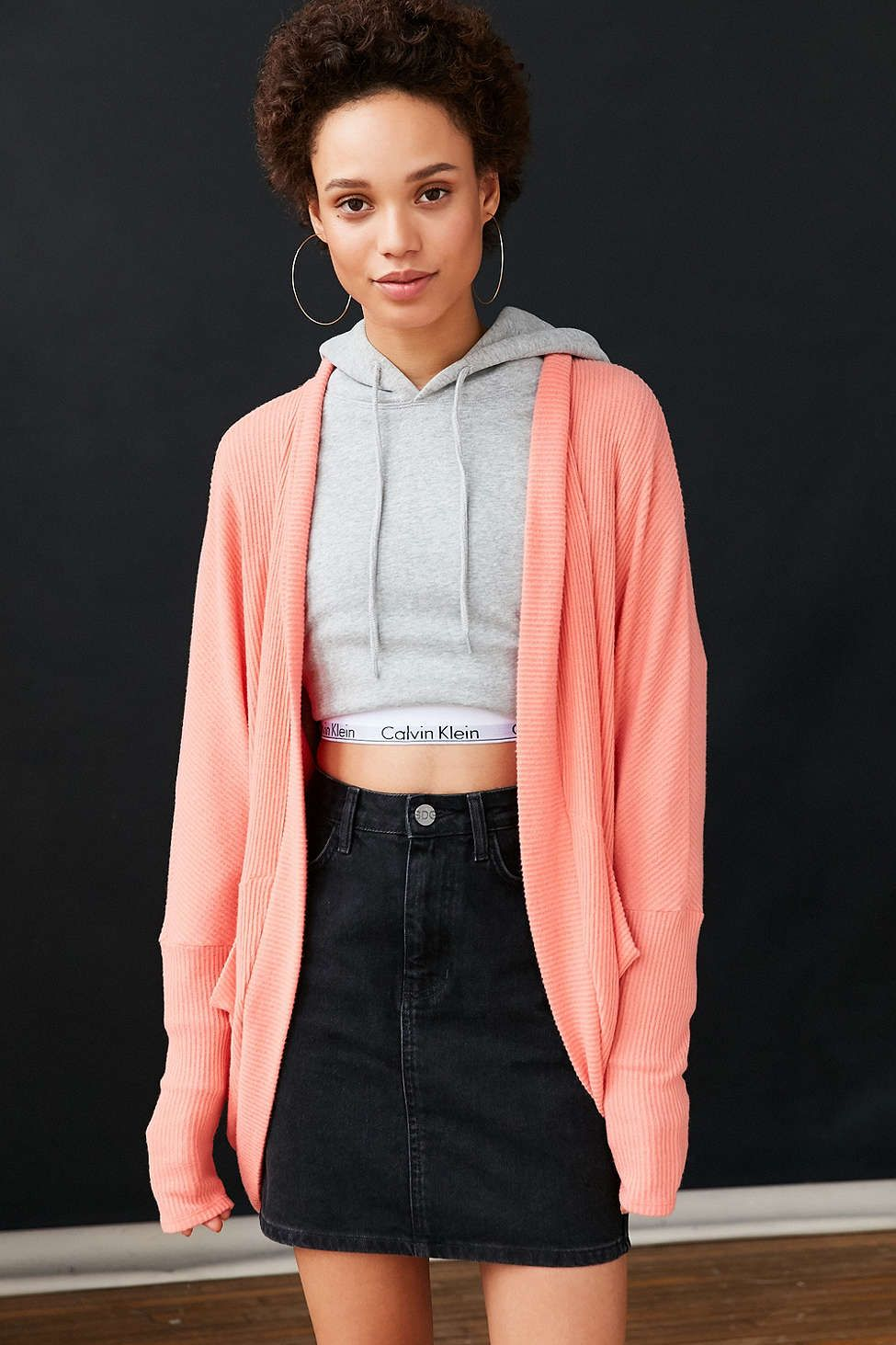 Silence   Noise Bobby Cozy Cocoon Cardigan   Cocoon cardigan ...