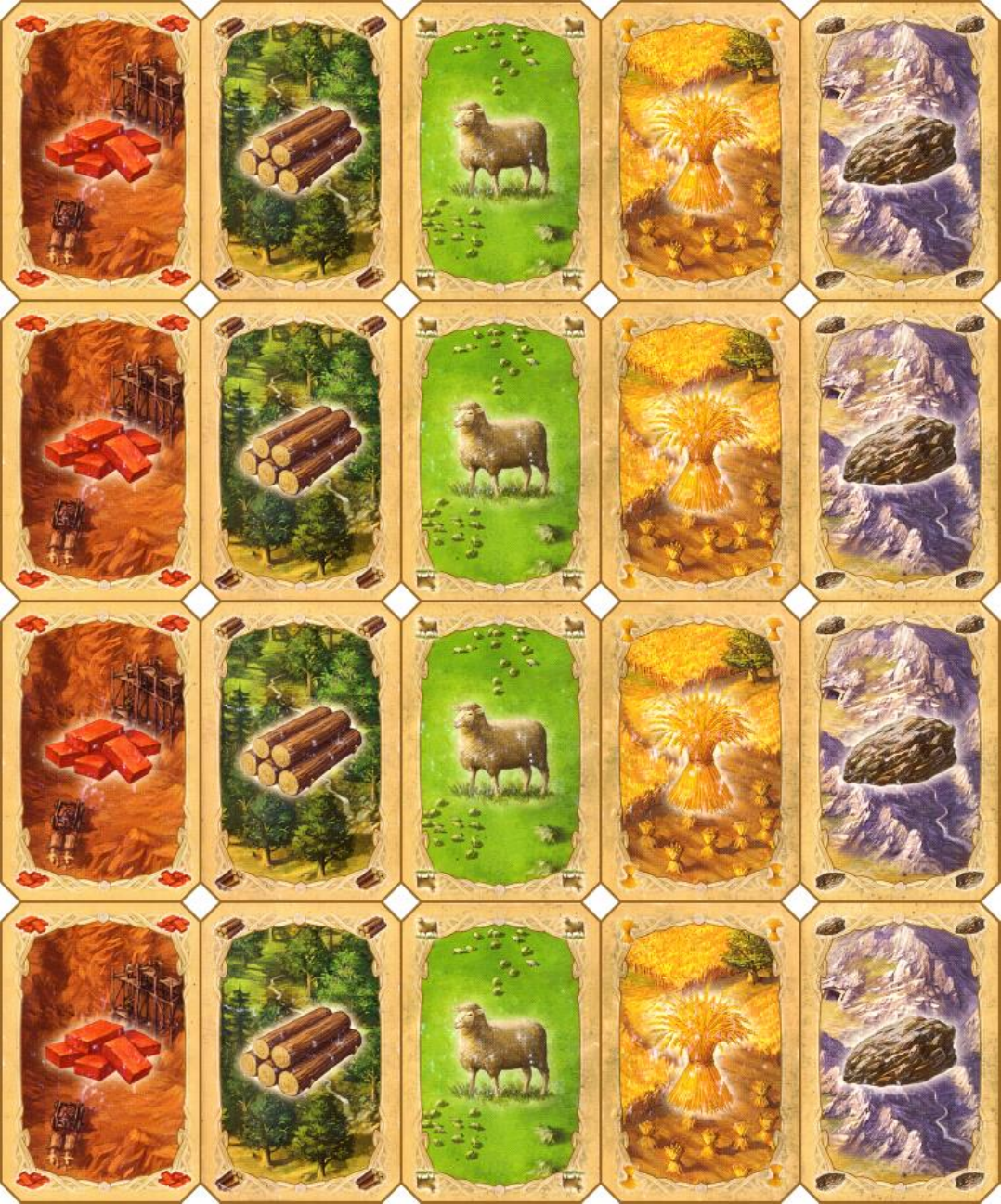 Exceptional image throughout settlers of catan printable