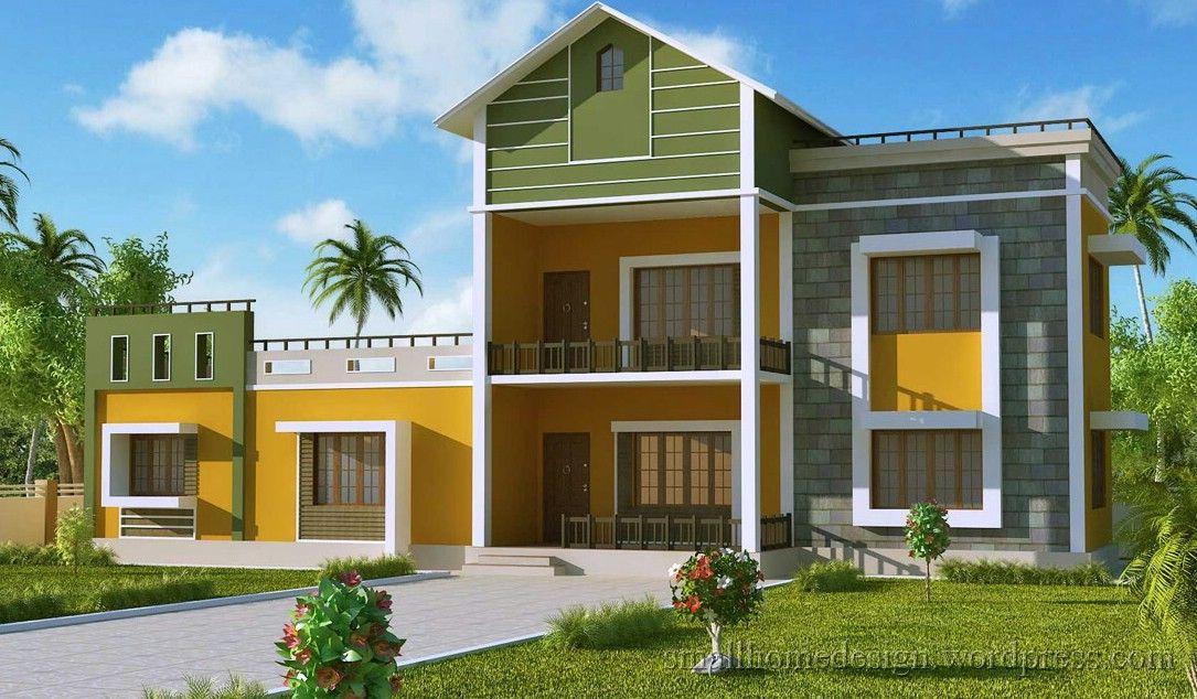 Interior And Exterior Design Small Home Ideas House Single Story