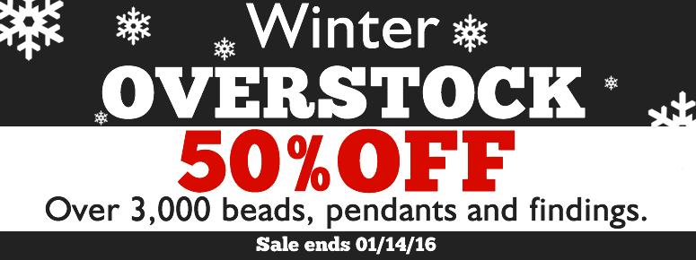 Winter Overstock Sale