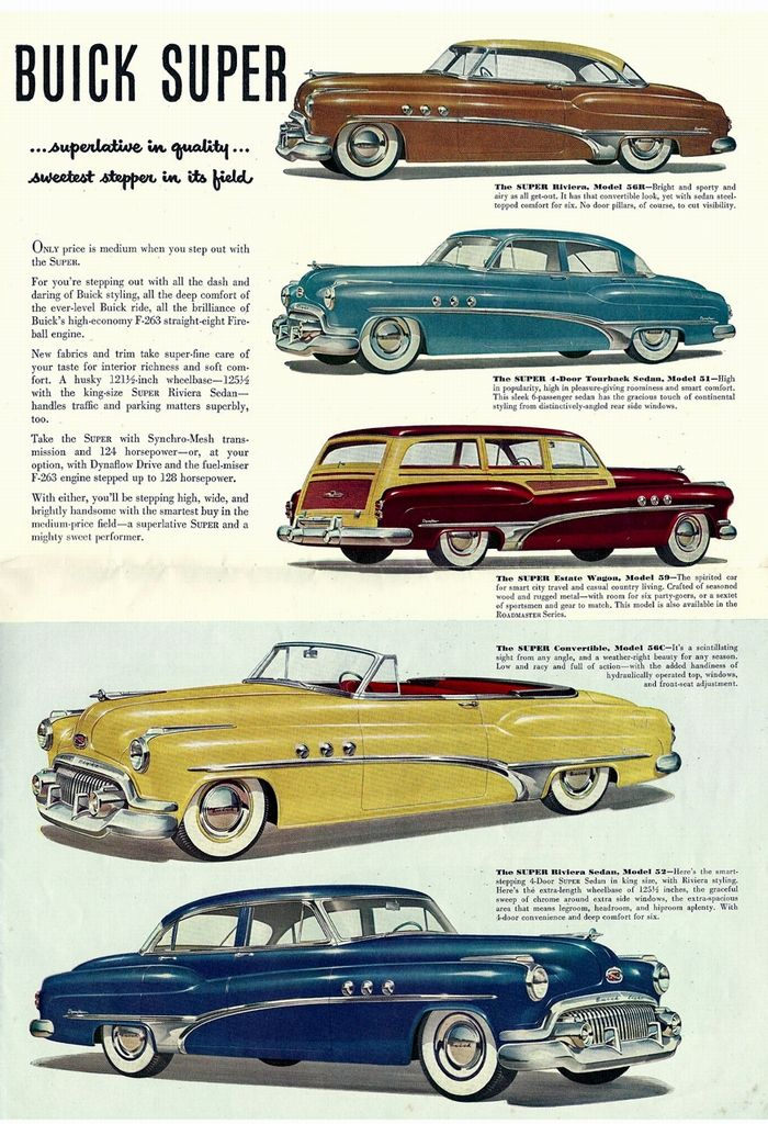 1951 Buick Supers http://www.amazon.com/TALES-WEST-BARBERS-SAN ...