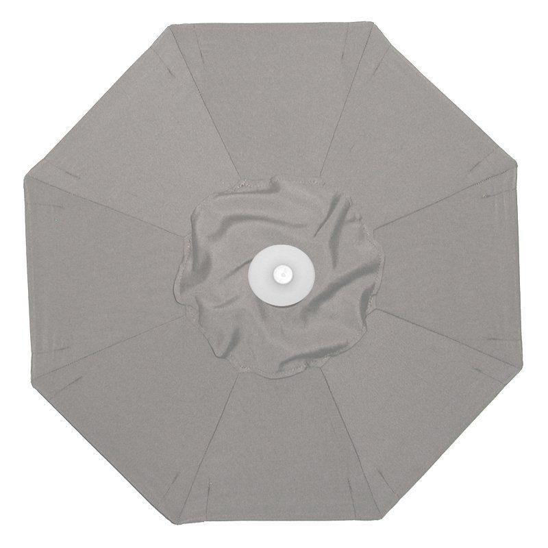 Galtech 9-ft. Aluminum Tilt Sunbrella Patio Umbrella Sunbrella Taupe / Grade B - BH736MO-55