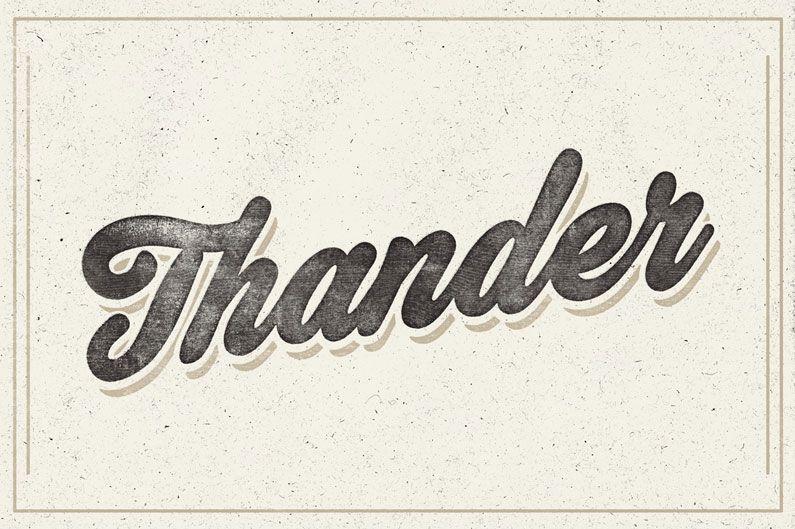 14 Retro Vintage Inspired Cursive Script Fonts Cursive Fonts Vintage Design Style Bold Script Font