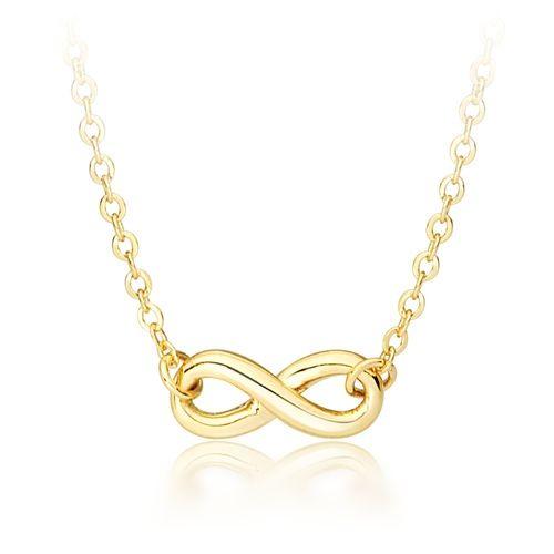 Infinitude Petite Infinity Pendant Gold Plated