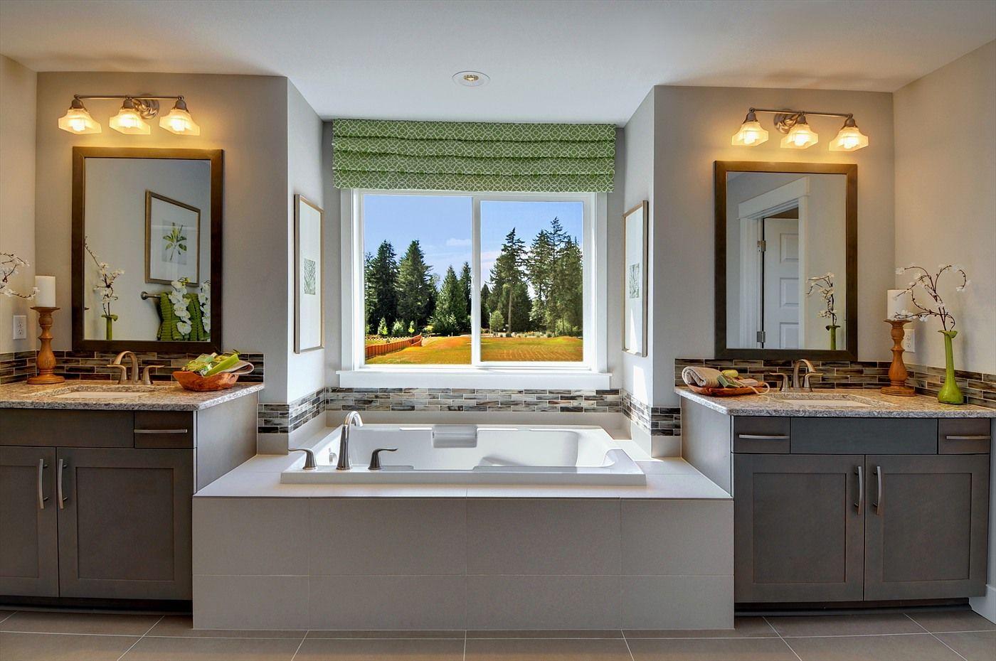 Master Bathrooms With Double Sink Vanities Master Bathrooms - His and hers bathroom sink