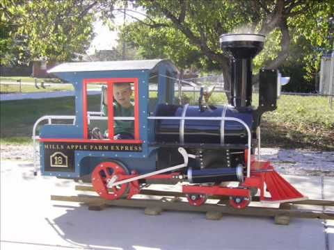 Building A 14 Wooden Backyard Railroad Train Part 1